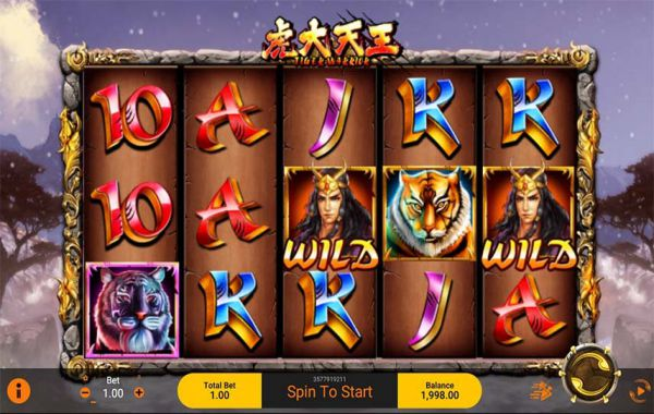 Review Game Slot Online The Tiger Warrior